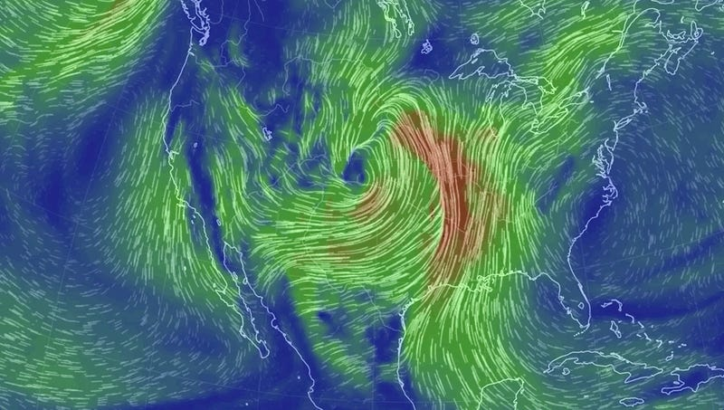 The Central U.S. Is About to Get Hit With a Bomb Cyclone
