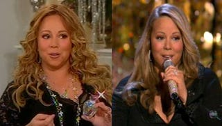 Illustration for article titled Mariah Carey Tweaks Camera Dimensions For Thinner Christmas Special