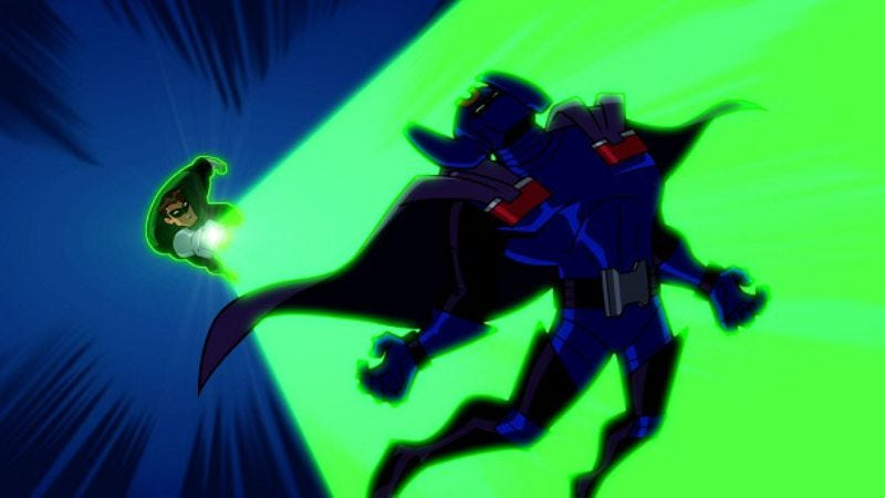 """Illustration for article titled Batman: The Brave And The Bold: """"Scorn Of The Star Sapphire!"""""""