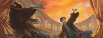 Illustration for article titled Harry Potter 7 to feature cover art