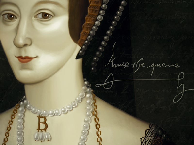 Illustration for article titled Pour One Out For Queen Anne Boleyn Today