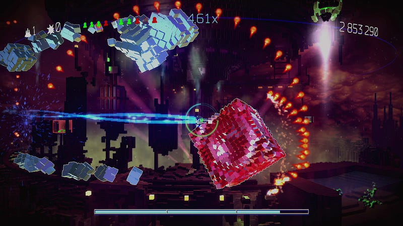 Illustration for article titled PS4 Hit Resogun Coming to PS3 and Vita