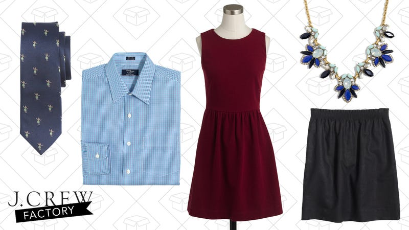 40-60% Off Dressed-Up Styles at J.Crew Factory