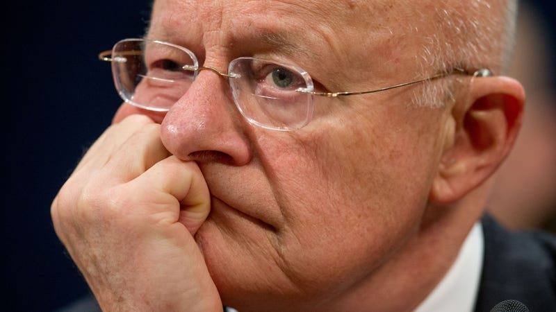 James Clapper, Director of National Intelligence, thinking very hard. Photo: AP