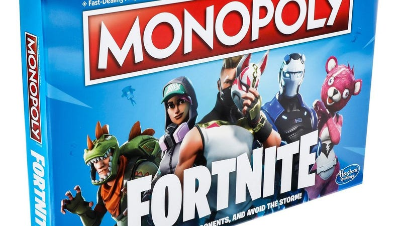 Illustration for article titled Fortnite Monopoly Replaces Boardwalk With Tilted Towers