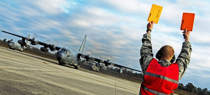 "Illustration for article titled USAF's Oldest C-130 Hercules ""Iron Horse"" Has Been Sent To The Boneyard"