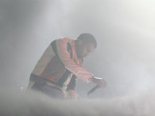 Kanye West (Mark Metcalfe/Getty Images)
