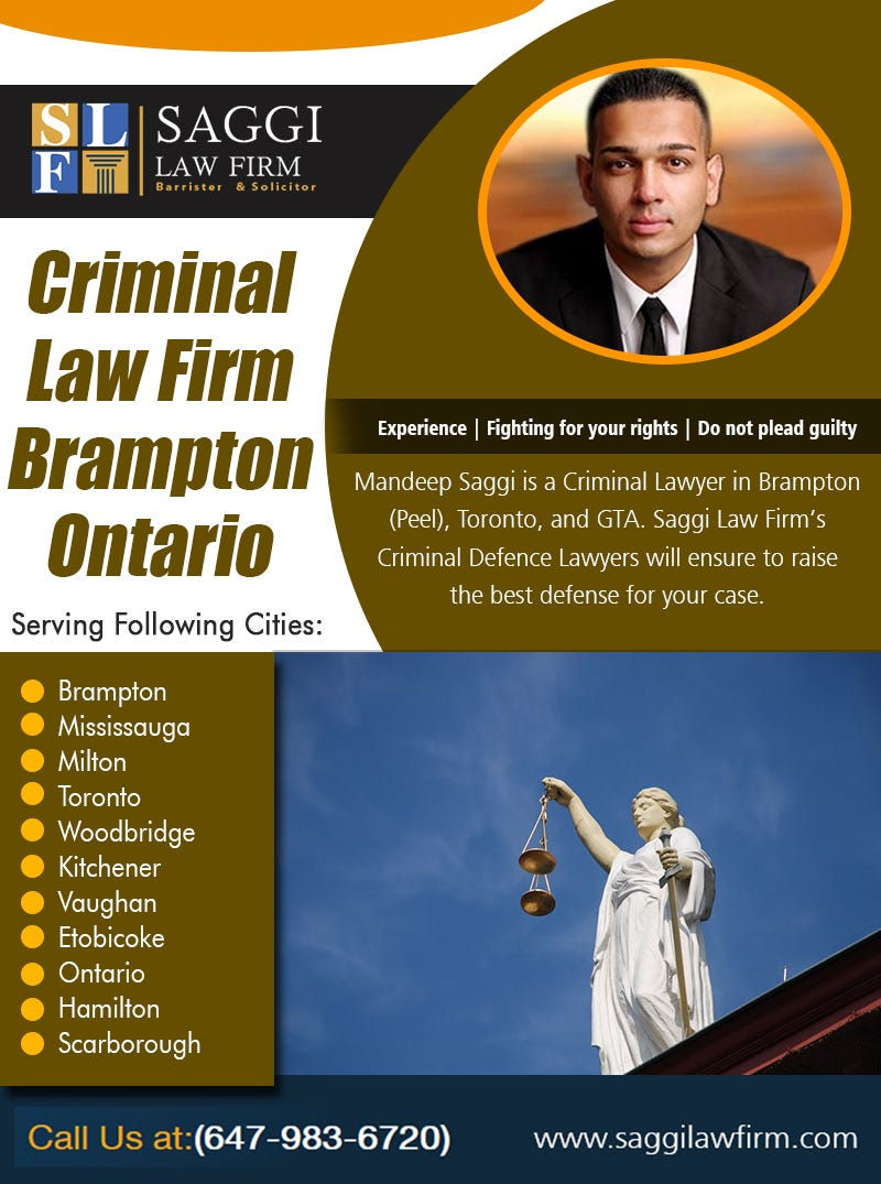 Illustration for article titled Criminal Law Firm Brampton Ontario