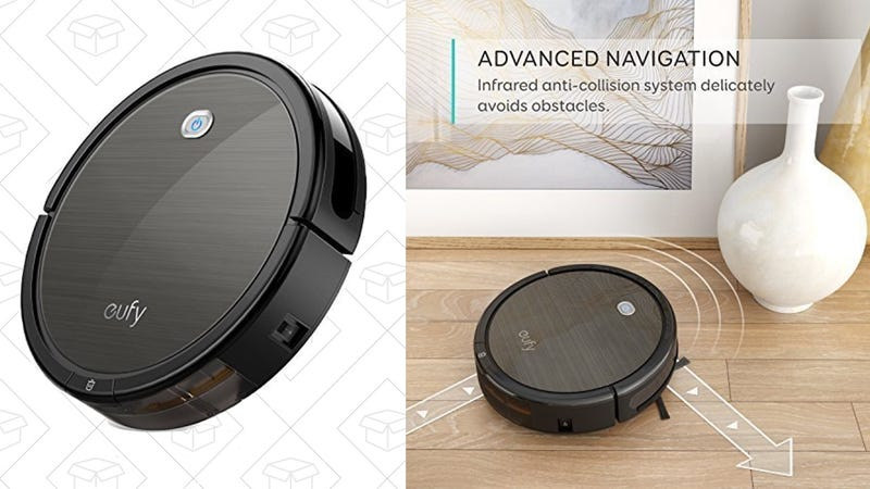 Eufy Robotic Vacuum Cleaner, $200 with code 2GEROB11