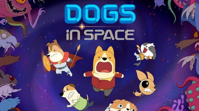 Netflix Captures Two of Our Big Interests With a New Animated Series Titled Dogs in Space