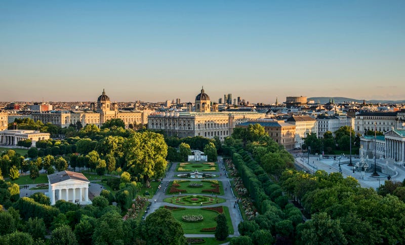 Viena, capital de Austria.