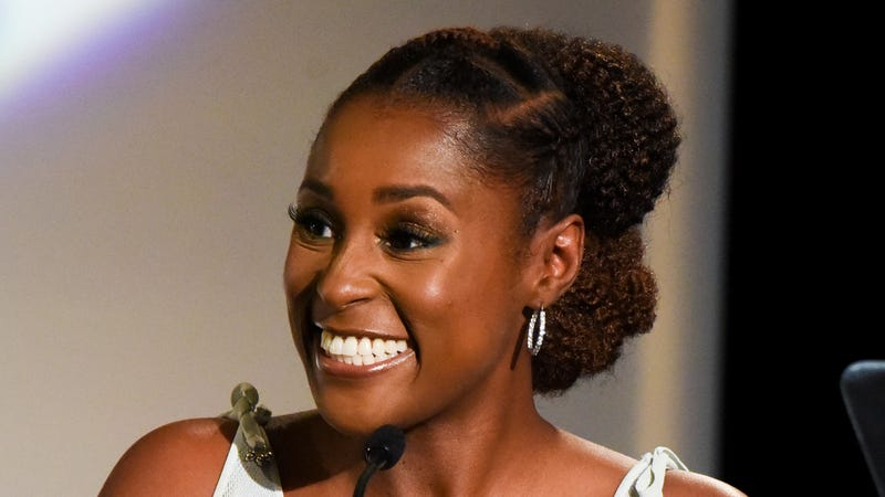 Issa Rae attends The Hollywood Chamber's 7th Annual State Of The Entertainment Industry Conference Presented By Variety on November 15, 2018 in Hollywood, California.