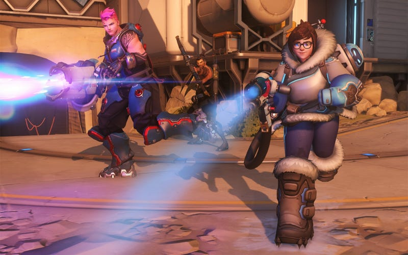 Illustration for article titled Little-Known Overwatch Team Is Tearing Up The Apex Tournament With Bizarre Strategies