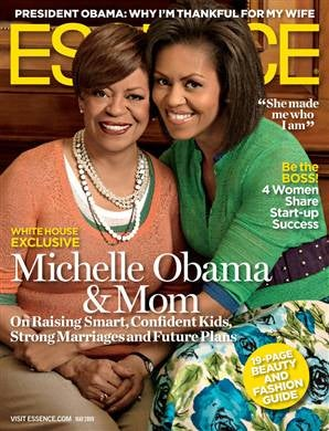 The stunning Marian Robinson and Michelle Obama