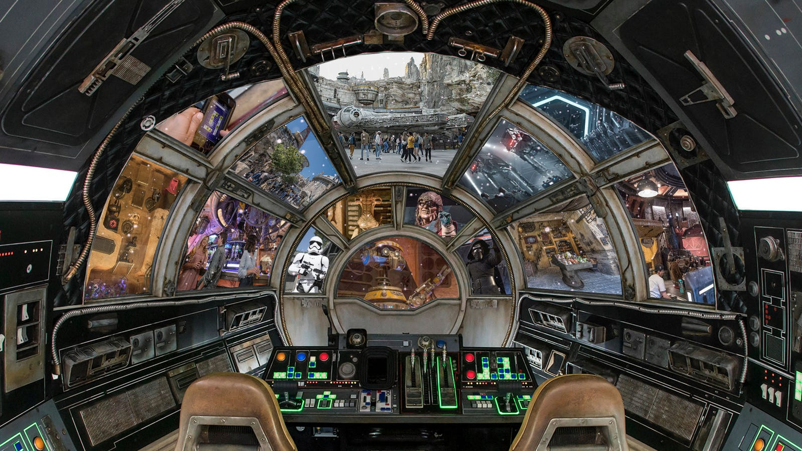 In true Star Wars fashion, the greatest thrills of Galaxy's Edge are the humblest in appearance
