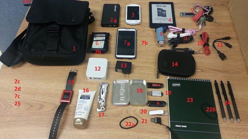 Illustration for article titled The Smallish Gadget Go Bag