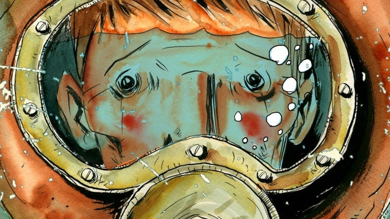 Illustration for article titled Ryan Gosling Is Developing a Comic Book Movie About Deep Sea Ghosts