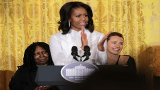 Michelle Obama hosts a Careers in Film workshop at the White HouseAlex Wong/Getty Images