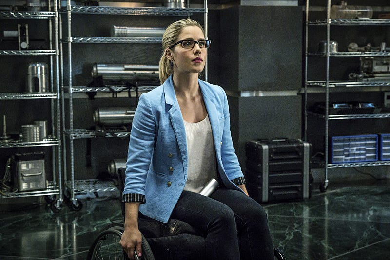 Illustration for article titled Arrow Just Rocked Felicity Smoak's World Again, and She Has No Idea
