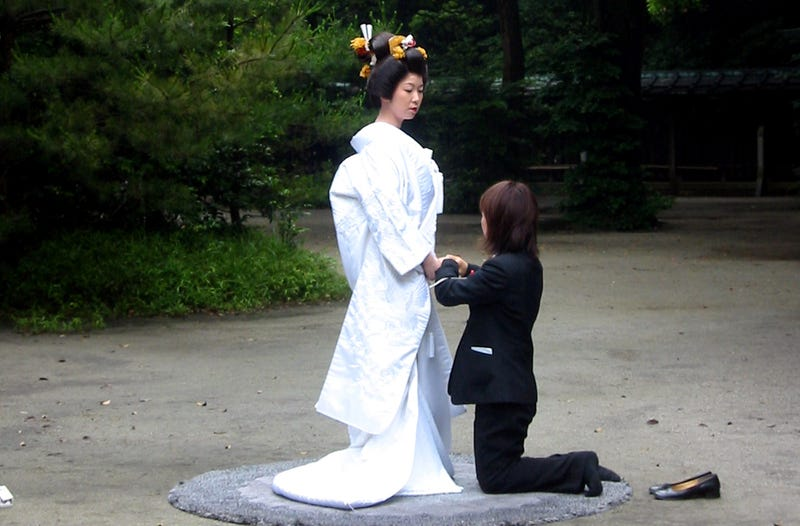 Illustration for article titled Japanese Hotel, Temple Offer Same-Sex Wedding Ceremonies