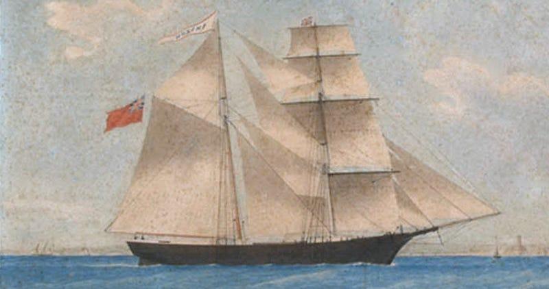 Illustration for article titled Qué ocurrió en el interior delMary Celeste, el barco fantasma más desconcertante de la historia