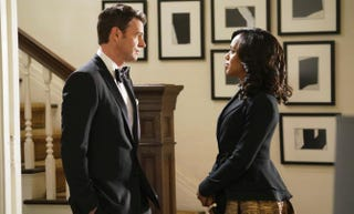 On Scandal, both Jake (Scott Foley) and Olivia (Kerry Washington) have daddy issues.Adam Taylor/ABC