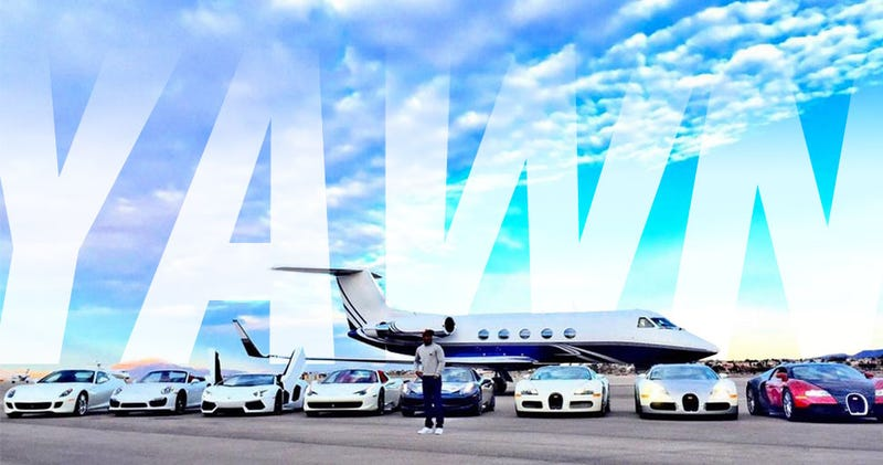 Illustration for article titled Open Letter To Floyd Mayweather: Your Car Collection Sucks