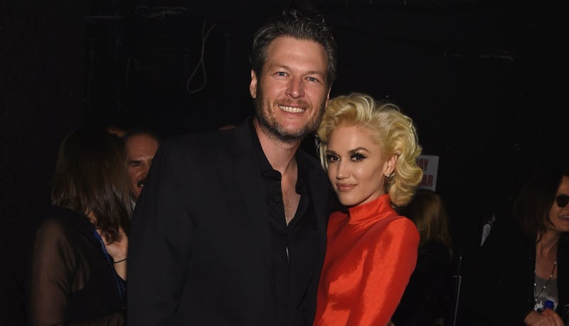 Illustration for article titled Gwen Stefani and Blake Shelton Are Really Running With This Thing