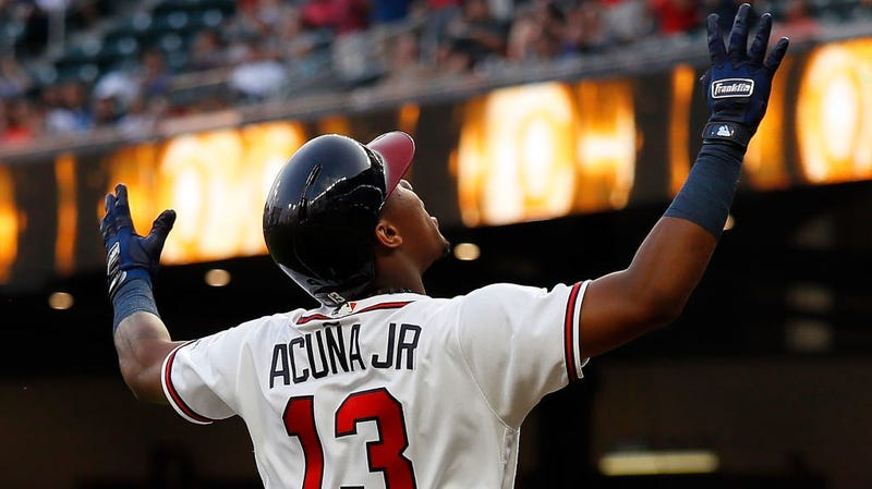 Illustration for article titled Ronald Acuña Jr. Is Donging His Way Into The Record Books