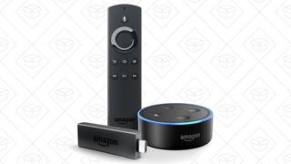 Fire TV Stick + Echo Dot   $70   Amazon