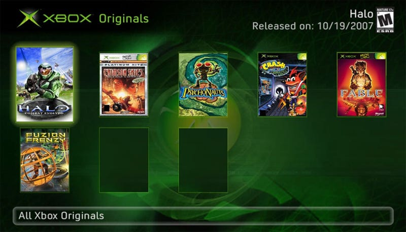 Illustration for article titled Microsoft Pulls Plug On Xbox Originals
