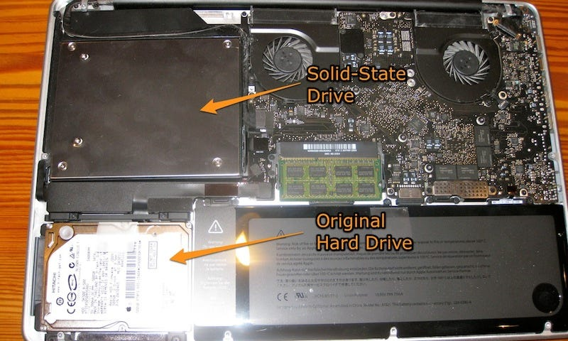 macbook pro 2009 upgrade ssd