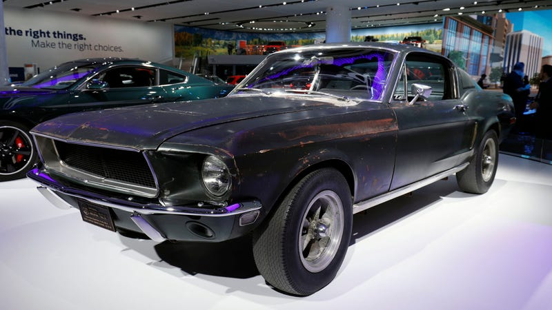 Illustration for article titled Channel Your Inner Steve McQueen And Buy Yourself The Real Bullitt Mustang