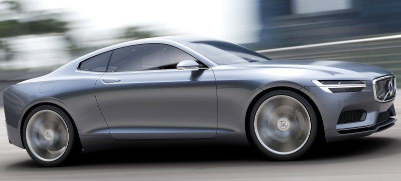 Illustration for article titled NOOOOOO: The Gorgeous Volvo Coupe Is Reportedly 'On Hold'
