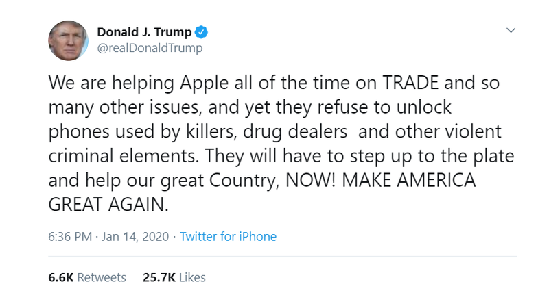 Mr. Apple will get right on it, sir.