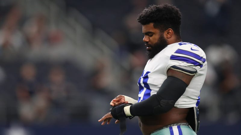 Ezekiel Elliott files lawsuit against National Football League to vacate six-game suspension