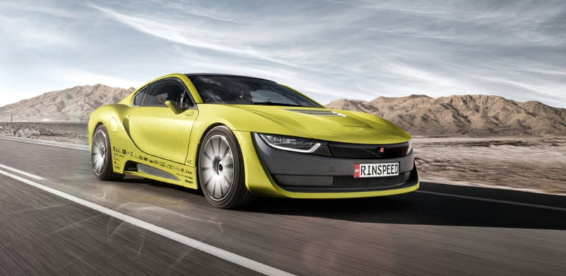 Illustration for article titled The Swiss Wackos At Rinspeed Made A BMW i8 That Drives Itself And Has Its Own Drone