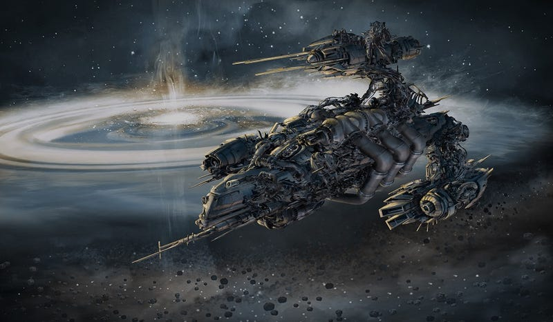 Illustration for article titled Check Out This H.R. Giger-Inspired Concept Art For The Blake's 7 Reboot