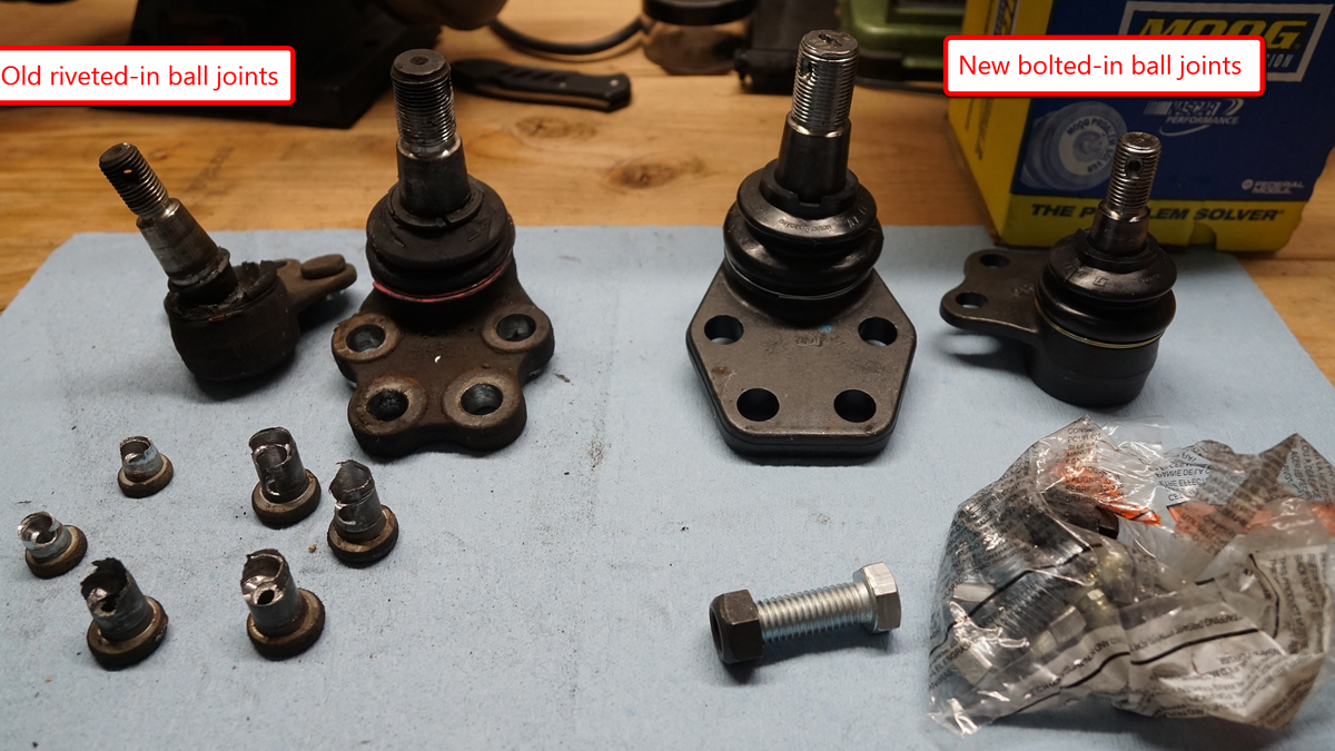 Here's How To Replace The Worst Type Of Ball Joints In The Automotive World