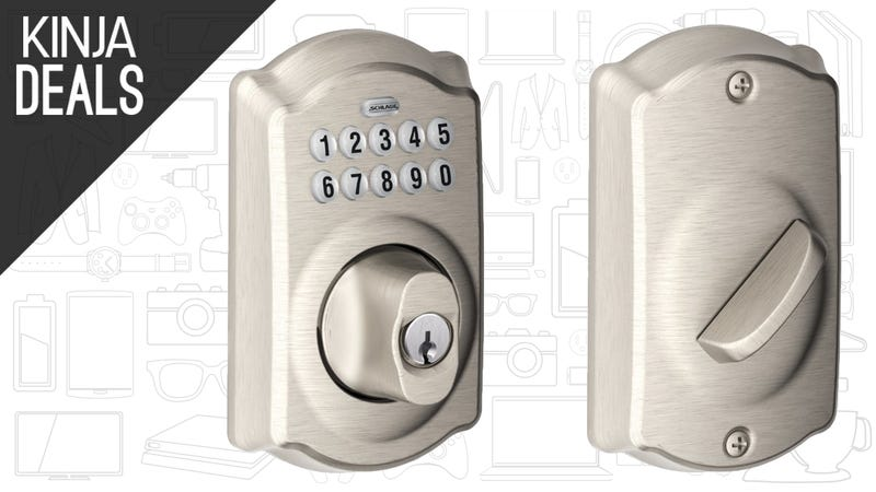 Illustration for article titled Control Access to Your House With This $70 Keypad Deadbolt