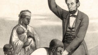 """""""Emancipation of the slaves, proclamed [sic],"""" J. Waeschle, 1862Library of Congress Prints and Photographs Division"""