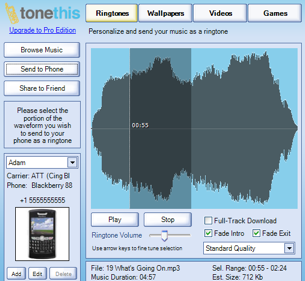 Illustration for article titled ToneThis Makes Ringtones, Wallpaper Dead Simple
