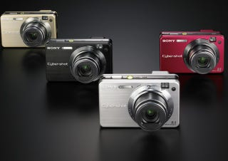 Illustration for article titled Sony DSC-W170, DSC-W150, DSC-W120: Regular Point and Shoots