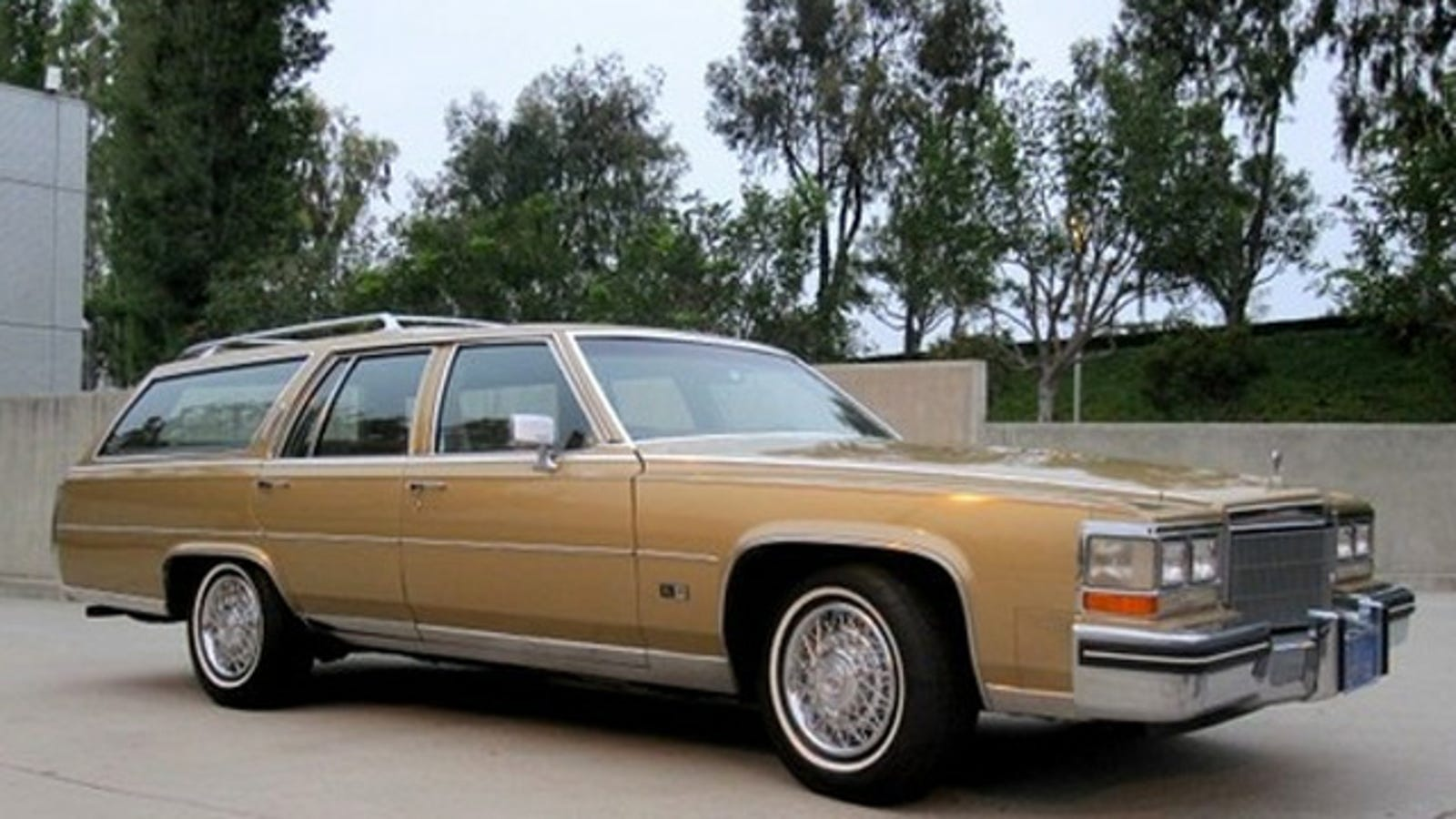 1985 Cadillac Fleetwood Brougham Is The Luxury Wagon That ...