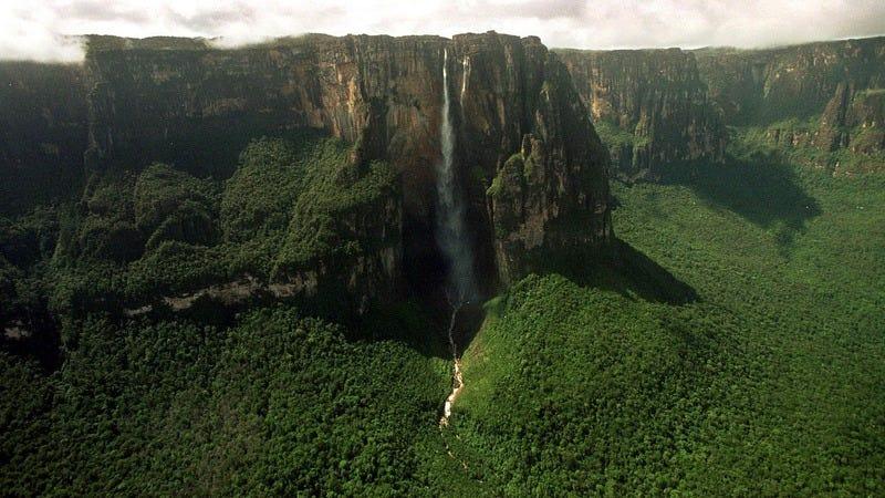 Venezuela's Angel Falls, from Planet Earth
