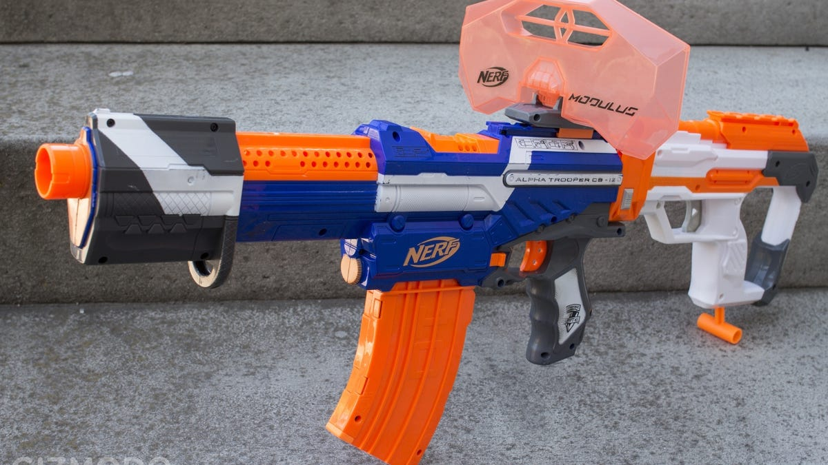 The Best Thing About Nerf's Modular Dart Gun Is Buying Parts on Amazon