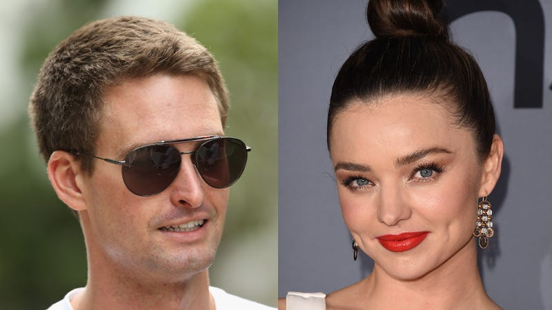 Illustration for article titled Miranda Kerr and Evan Spiegel's Romance Is Impossible to Define