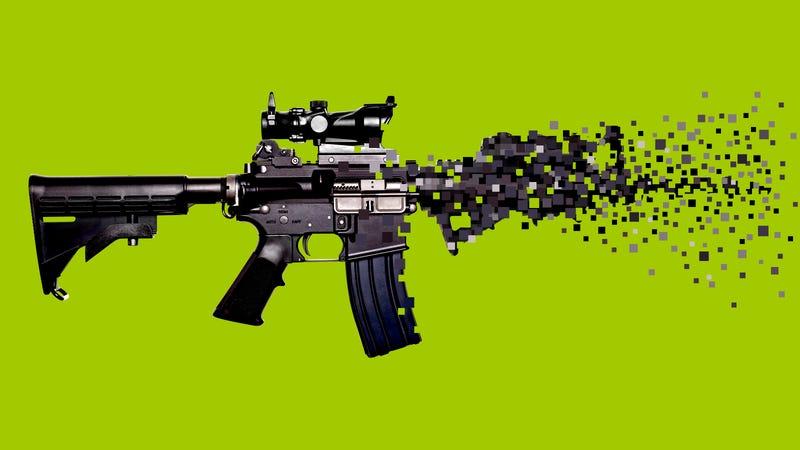 Real Guns Virtual Guns And Me