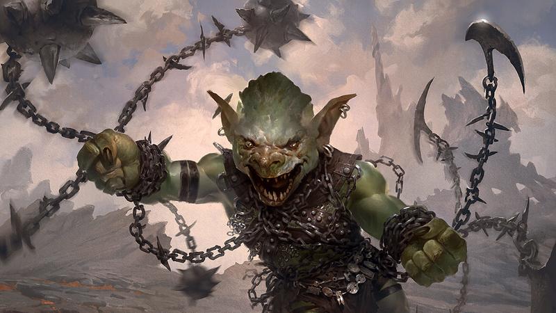 Resultado de imagen de goblin chainwhirler