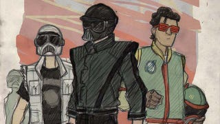 Illustration for article titled Star Wars Looks Rad as a 1980s Teen Movie